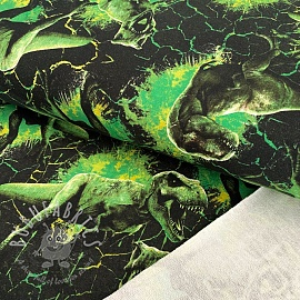 Sweat Jurassic world Attack green digital print