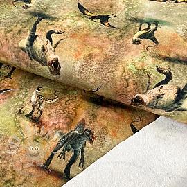 Sweat Jurassic world Wilderness sand digital print