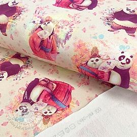 Sweat KUNG FU PANDA Panda lady digital print
