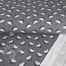 Sweat Modal Flower in the air grey