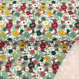 Sweat modal Flowers mint