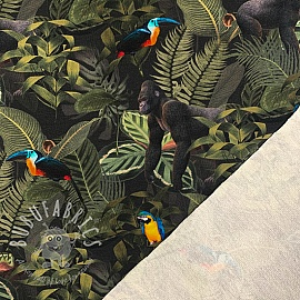 Sweat Monkey forest digital print