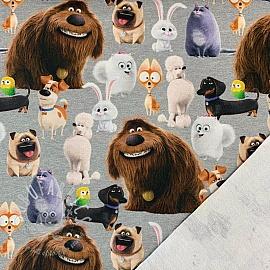 Sweat Pets characters digital print