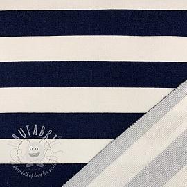 Sweat Preppy stripe navy