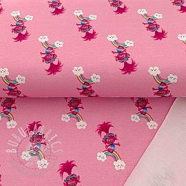 Sweat Trolls pink digital print