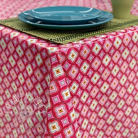Tablecloth Fabric PVC IBIZA papaye