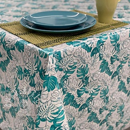 Tablecloth Fabric PVC MANGROVE caledon