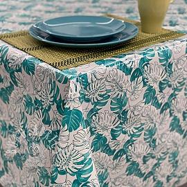 Tablecloth Fabric PVC MANGROVE caledon