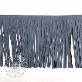 Tassels 12 cm suede jeans