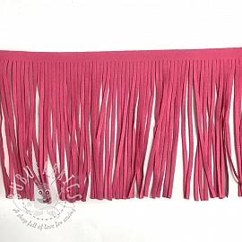 Tassels 12 cm suede pink