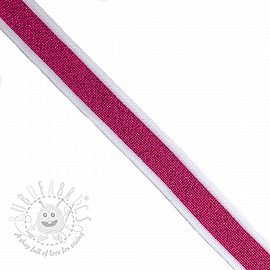 Trouser Side Stripe LUREX fuchsia