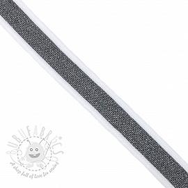 Trouser Side Stripe LUREX grey