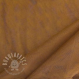 Tulle netting dark camel 160 cm