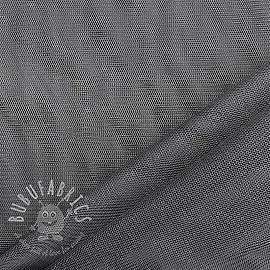 Tulle netting dark grey 160 cm
