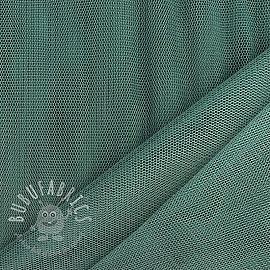 Tulle netting dark old green 160 cm
