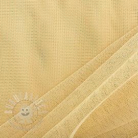Tulle netting light yellow 160 cm