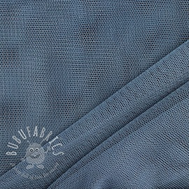 Tulle netting old blue 160 cm