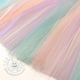 Tulle netting Rainbow 4