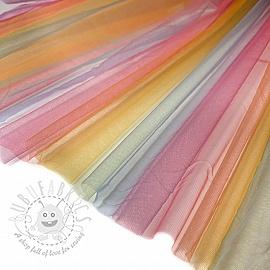 Tulle netting Rainbow 5