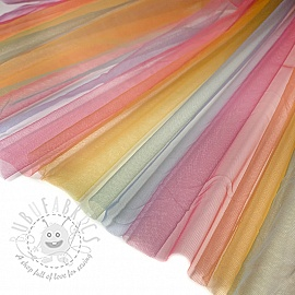 Tulle netting Rainbow MULTI