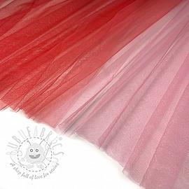 Tulle netting Rainbow RED