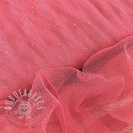 Tulle netting Royal sparkle pink