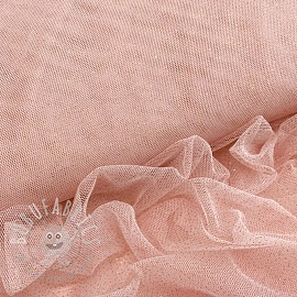 Tulle netting ROYAL SPARKLE rose gold