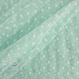 Tulle netting SPOT light mint
