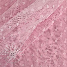 Tulle netting SPOT light pink