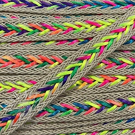 Twisted cord NEON ecru