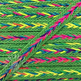 Twisted cord NEON lime