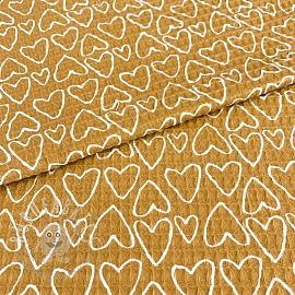 Waffle Sweethearts ochre