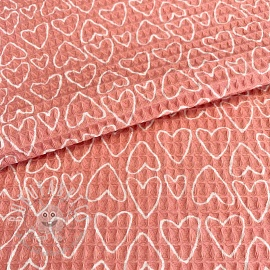 Waffle Sweethearts pink