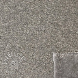 Alpenfleece UNI grey MELANGE