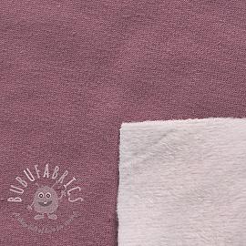 Alpenfleece UNI purple/light pink