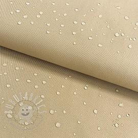 Water-reppellent fabrics beige