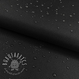 Water-reppellent fabrics black