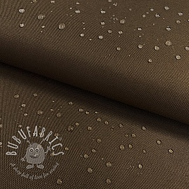 Water-reppellent fabrics brown