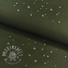 Water-reppellent fabrics dark green