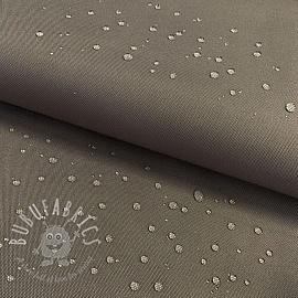 Water-reppellent fabrics dark grey