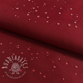 Water-reppellent fabrics dark red
