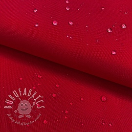 Water-reppellent fabrics red