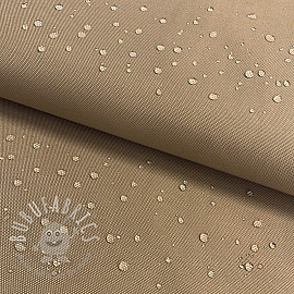 Water-reppellent fabrics taupe