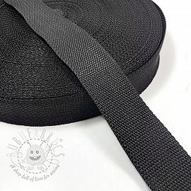 Webbing 4 cm black