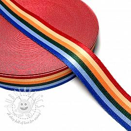 Webbing 4 cm DECO stripes