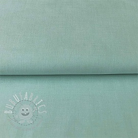 Cotton poplin Yarn dyed  azure