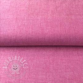 Cotton poplin Yarn dyed fuchsia