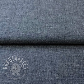 Cotton poplin Yarn dyed navy