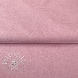 Cotton poplin Yarn dyed rosa