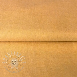 Cotton poplin Yarn dyed yellow